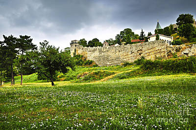 Battlements Photograph - Kalemegdan Fortress In Belgrade by Elena Elisseeva