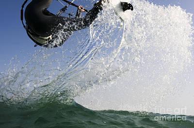 Kitesurfing Board Art Print by Hagai Nativ