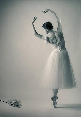 La Giselle Art Print by Nikolay Krusser