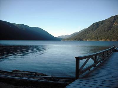Photograph - Lake Crescent by Kelly Manning