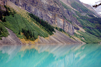 Photograph - Lake Louise by Harvey Barrison