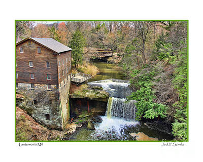 Youngstown Ohio Photograph - Lanterman's Mill by Jack Schultz