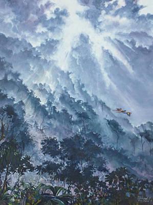 Painting - 3 Lapas Osa Peninsula by Michael Cranford