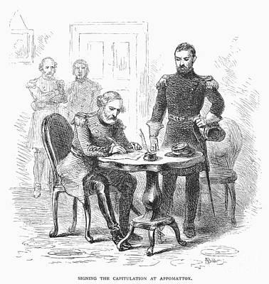 Lees Surrender, 1865 Art Print by Granger