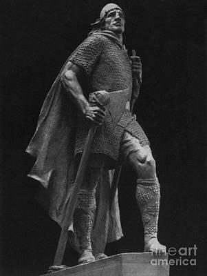 Leif Photograph - Leif Ericson, Norse Explorer by Photo Researchers