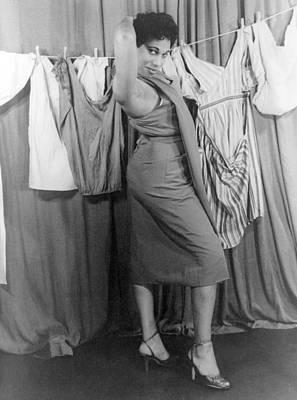 Leontyne Price B. 1927, African Art Print by Everett