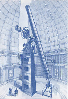 Lick Observatory Photograph - Lick Observatory, Mount Hamilton, Ca by Science Source