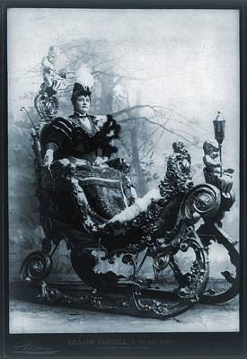 Lillian Russell 1861-1922, American Art Print by Everett
