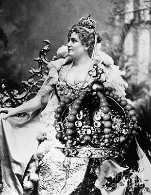 Decolletage Photograph - Lillian Russell (1861-1922) by Granger
