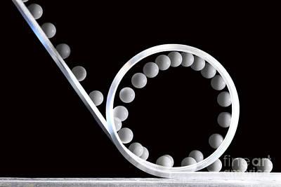Rollercoaster Photograph - Loop The Loop by Ted Kinsman