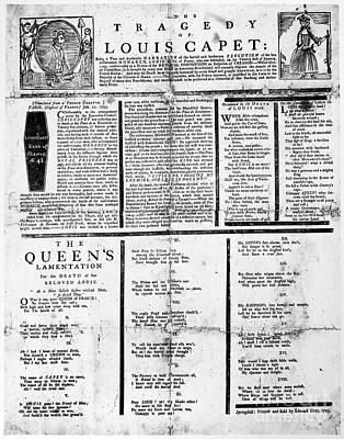 Louis Xvi: Execution, 1793 Print by Granger