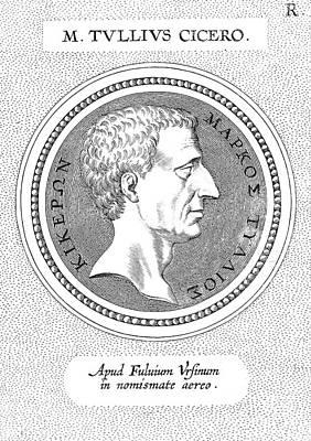 Marcus Tullius Cicero Art Print by Granger