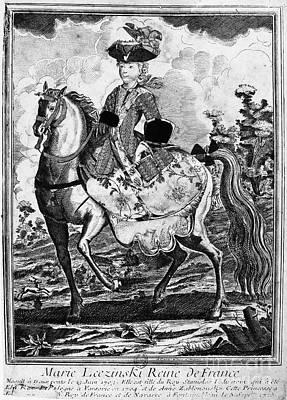 Marquise De Pompadour Art Print by Granger