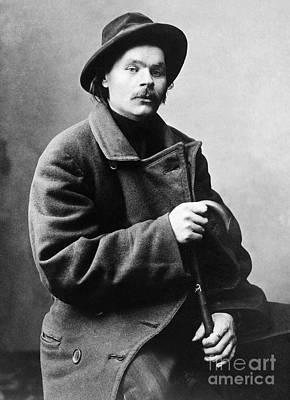 Realism Photograph - Maxim Gorki (1868-1936) by Granger