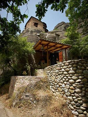 Photograph - Monastery Of Saint Nicholas Anapafsas by Jouko Lehto