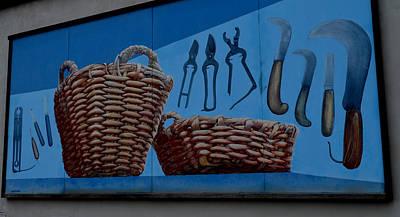 Photograph - Murals In Riomaggiore by Barbara Walsh