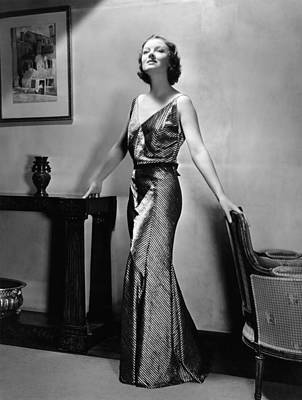 Myrna Loy, Mgm Portrait By Clarence Print by Everett