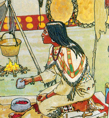 Native American Medicine Art Print by Science Source