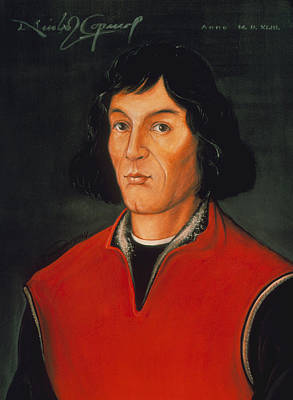 Nicolaus Copernicus, Polish Astronomer Print by Detlev Van Ravenswaay