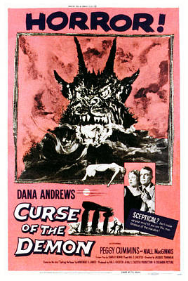 1957 Movies Photograph - Night Of The Demon, Aka Curse Of The by Everett