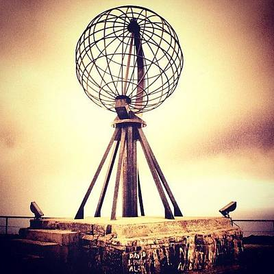 Travel Photograph - Nordkapp by Luisa Azzolini