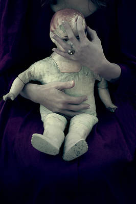 Old Doll Art Print by Joana Kruse