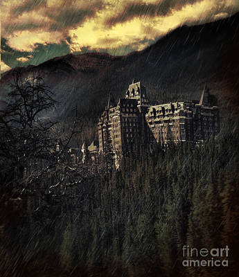 Photograph - Old Historical Hotel In The Rockies by Sandra Cunningham