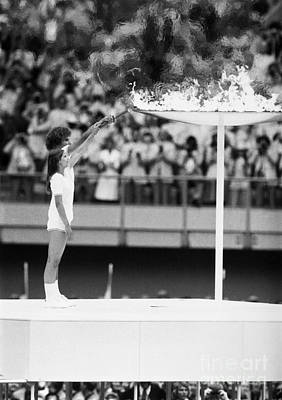 Photograph - Olympic Games, 1976 by Granger