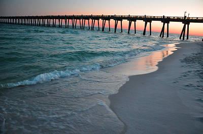 Pensacola Beach Pier Art Print