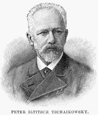 Peter Ilich Tchaikovsky Art Print
