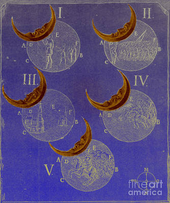 Phases Of An Eclipse Art Print by Science Source