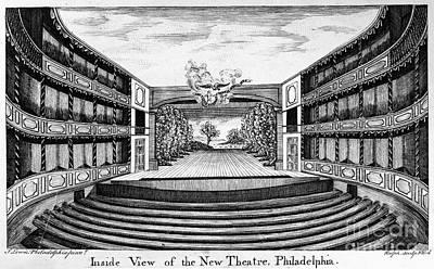 Philadelphia: Theater Art Print