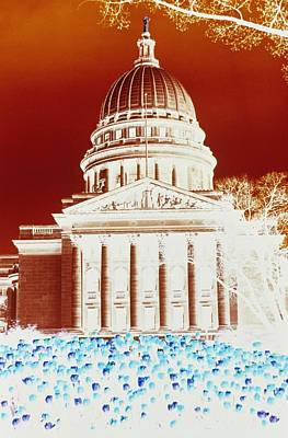Photographic Cross-processing Creates Art Print by Stacy Gold