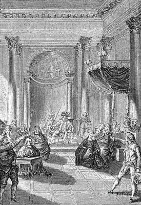 Pierre De Beaumarchais Art Print by Granger