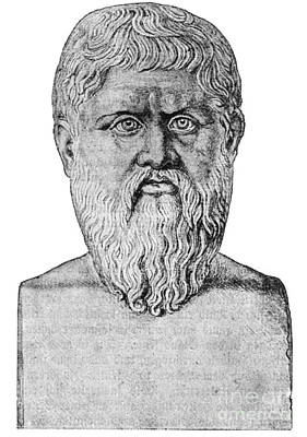 Plato, Ancient Greek Philosopher Art Print by Science Source