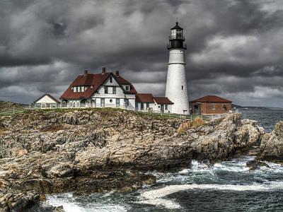 Just Desserts - Portland Head Lighthouse by Joe  Palermo