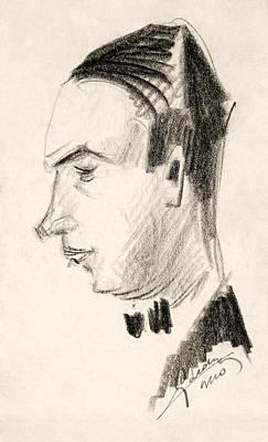 Portrait Art Print by Odon Czintos