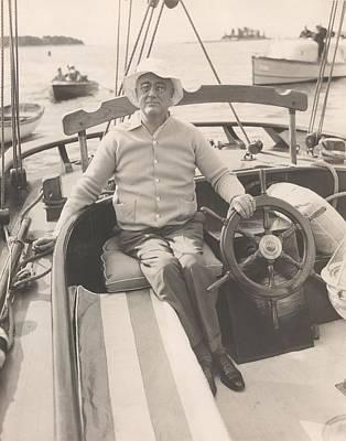 President Franklin Roosevelt Art Print by Everett