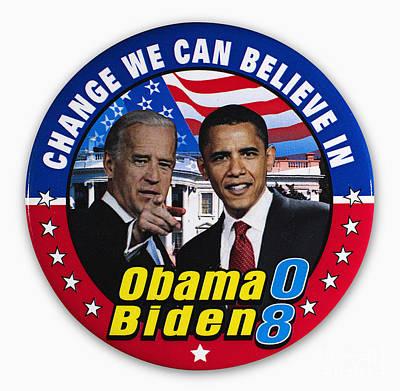 Vice President Biden Photograph - Presidential Campaign, 2008 by Granger