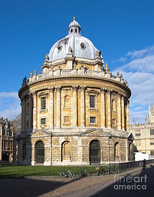 Oxford Photograph - Radcliffe Camera by Andrew  Michael