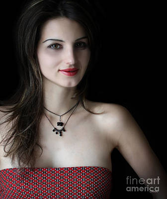 Photograph - Red And Black by Eena Bo
