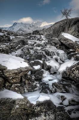 Ethereal - Rhaeadr Idwal Waterfall by Andy Astbury