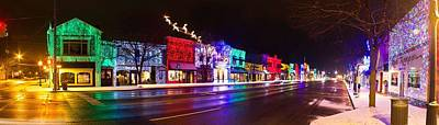 Rochester Christmas Light Display Art Print by Twenty Two North Photography