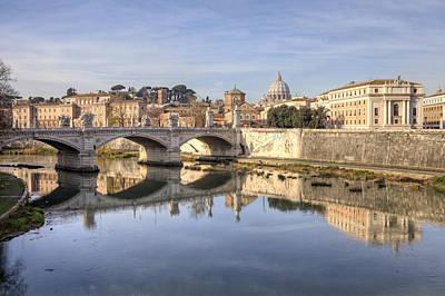 Vatican Photograph - Rome - St. Peter's Basilica by Joana Kruse