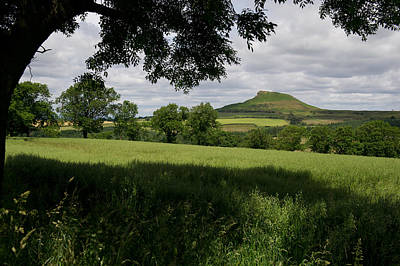 Photograph - Roseberry Topping by Gary Eason