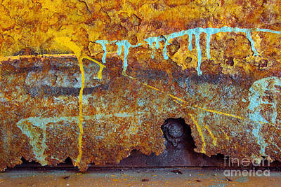 Vandalize Photograph - Rust Colors by Carlos Caetano