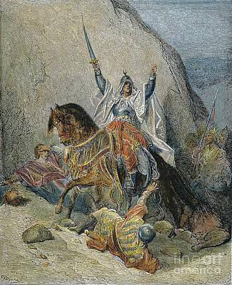 Saladin Photograph - Saladin (1138-1193) by Granger
