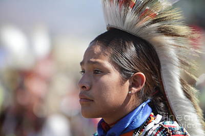 Photograph - San Manuel Indians Pow Wow by Nicholas Burningham