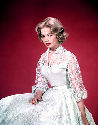 Sandra Dee, Ca. 1950s Art Print by Everett