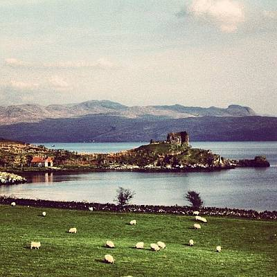 Fantasy Photograph - Scotland by Luisa Azzolini